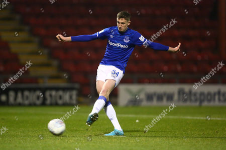 Stock Image of Joe Anderson of Everton