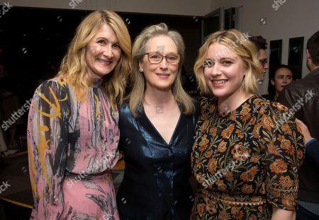 Laura Dern, Meryl Streep and Writer/Director Greta Gerwig