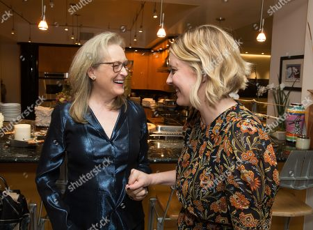 Meryl Streep and Writer/Director Greta Gerwig