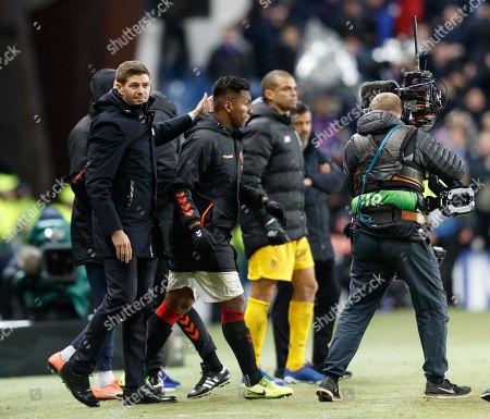 Editorial picture of Rangers v Porto, UEFA Europa League, Group G, Football, Ibrox Stadium, Glasgow, Scotland, UK - 07 Nov 2019