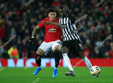 Editorial image of Manchester United v Partizan Belgrade, UEFA Europa League, Group L, Football, Old Trafford, UK - 07 Nov 2019