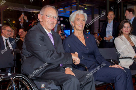 Wolfgang Schauble and Christine Lagarde