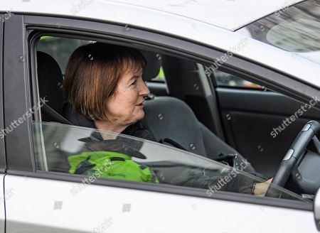 Labour MP Harriet Harman, who ran to be the next Speaker of the House, is seen arriving at Parliament