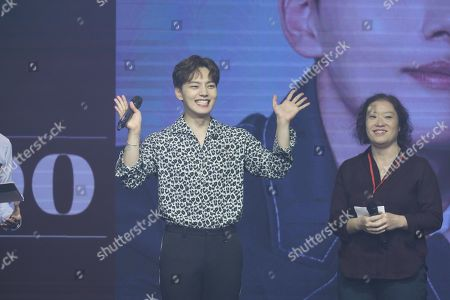 Editorial image of Yeo Jin-goo in concert, Taipei, Taiwan, China - 03 Nov 2019