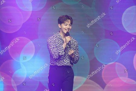 Editorial picture of Yeo Jin-goo in concert, Taipei, Taiwan, China - 03 Nov 2019