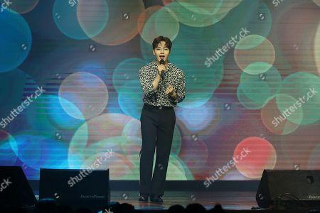 Editorial photo of Yeo Jin-goo in concert, Taipei, Taiwan, China - 03 Nov 2019