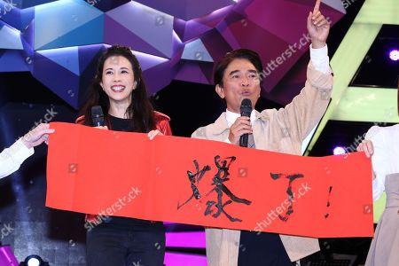 Karen Mok and Jacky Wu