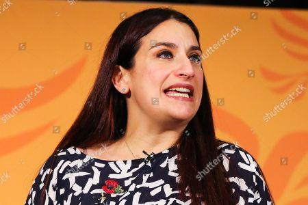Liberal Democrats MP for Liverpool Wavertree Luciana Berger speaks during the launch of Liberal Democrat general election campaign in Westminster. A general election will be held on 12 December 2019.