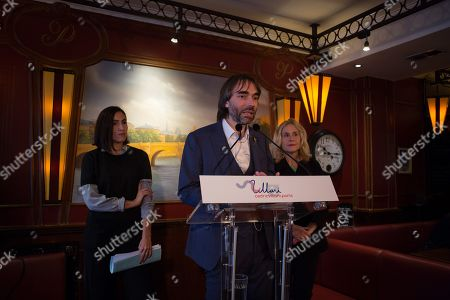 Editorial image of Cedric Villani press conference, Paris, France - 04 Nov 2019