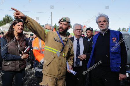 Editorial image of European Commissioner for Humanitarian Aid and Crisis Management visit EU MODEX, Seixal, Portugal - 05 Nov 2019