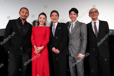 'Wings Over Everest' press conference - Fay Yu, Zhang Jingchu, Koji Yakusho, Po-Hung Lin, Terence Chang