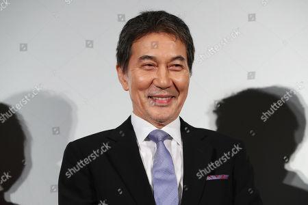 Stock Photo of 'Wings Over Everest' press conference - Koji Yakusho