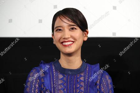 Stock Picture of 'Labyrinth of Cinema' press conference - Hirona Yamazaki
