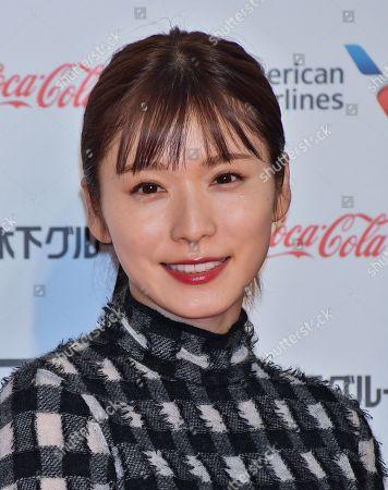 Stock Image of Mayu Matsuoka attends the opening ceremony