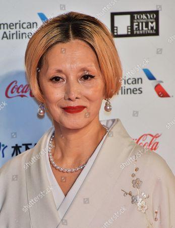 Mari Natsuki attend the opening ceremony