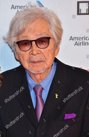 Director Yoji Yamada attends the opening ceremony
