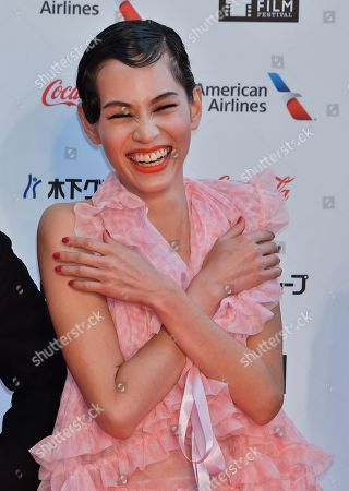Stock Picture of Kiko Mizuhara attends the opening ceremony