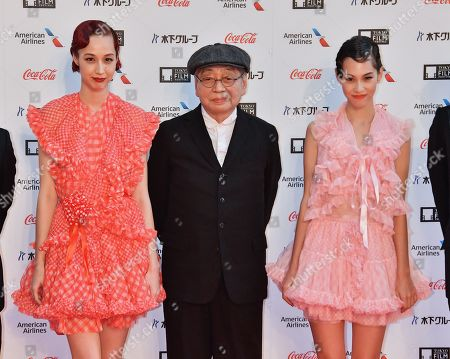 Yuka Mizuhara, Haruomi Hosono and Kiko Mizuhara attend the opening ceremony