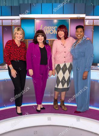 Ruth Langsford, Coleen Nolan, Janet Street-Porter and Brenda Edwards