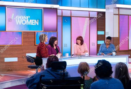 Editorial photo of 'Loose Women' TV show, London, UK - 05 Nov 2019