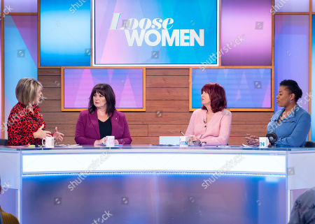 Editorial picture of 'Loose Women' TV show, London, UK - 05 Nov 2019
