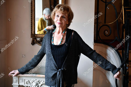 Irish writer Edna O'Brien poses after winning the Femina Foreign Literary Prize 2019 for her book 'Girl' in Paris, France, 05 November 2019. The Femina prize was founded in 1904 by the review Femina and is given annually to a male or femal writer for the best novel published in France.