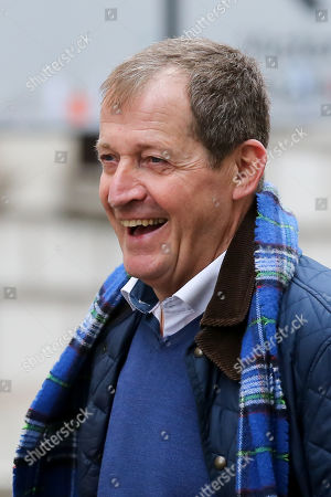 Former Downing Street Press Secretary Alastair Campbell is seen in Westminster.