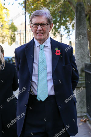 Stock Picture of MP for Stone in Staffordshire and a member of European Research Group (ERG) Bill Cash in Westminster. A general election will be held on 12 December 2019.