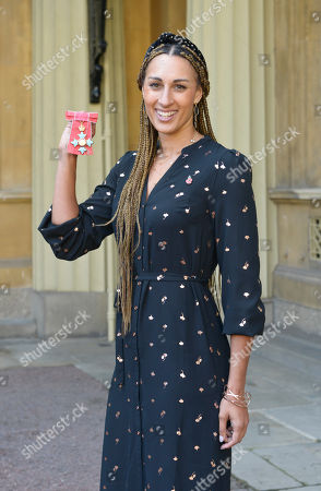 Stock Picture of Miss Geva Mentor receives a CBE for services to netball.