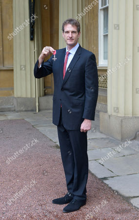 Mr. Dan Snow, Journalist, Historian and Presenter. Receives an MBE for services to History.