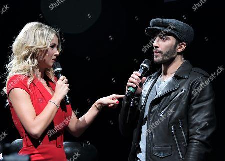 Diletta Leotta and Andrea Iannone