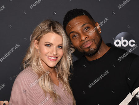 Stock Photo of Witney Carson and Kel Mitchell