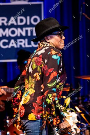 Editorial photo of Dee Dee Bridgewater in concert at the Blue Note, Milan, Italy - 16 Oct 2019