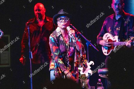 Editorial image of Dee Dee Bridgewater in concert at the Blue Note, Milan, Italy - 16 Oct 2019