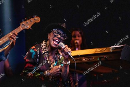 Editorial picture of Dee Dee Bridgewater in concert at the Blue Note, Milan, Italy - 16 Oct 2019
