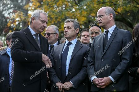 Jean-Luc Moudenc, mayor of Toulouse, Nicolas Sarkozy, Jean-Michel Blanquer, Minister of Education