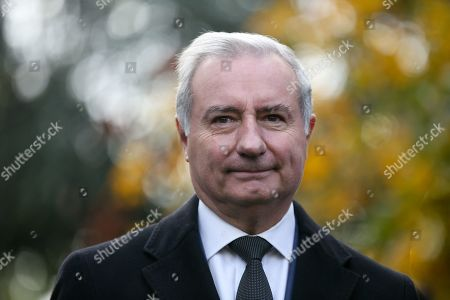 Stock Image of Jean-Luc Moudenc, Mayor of Toulouse