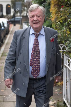 Father of the House of Commons Kenneth Clarke leaves his home for Parliament on his last day as an MP. Kenneth Clarke first became MP for Rushcliffe in Nottinghamshire in 1970. The House is sitting for the last time today ahead of the General Election which will take place on December 12th.