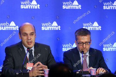 Editorial image of 2019 Web Summit Lisbon, Portugal - 05 Nov 2019