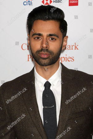 Hasan Minhaj attends the 13th annual Stand Up For Heroes benefit concert in support of the Bob Woodruff Foundation at the Hulu Theater at Madison Square Garden, in New York