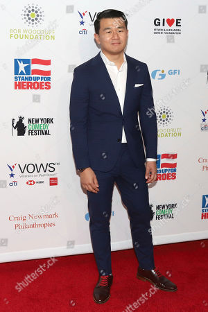 Ronny Chieng attends the 13th annual Stand Up For Heroes benefit concert in support of the Bob Woodruff Foundation at the Hulu Theater at Madison Square Garden, in New York
