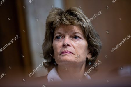United States Senator Lisa Murkowski (Republican of Alaska) attends the nomination hearing of Katharine MacGregor, nominated to be Deputy Secretary of the Interior, and James P. Danly, nominated to be a Member of the Federal Energy Regulatory Commission,
