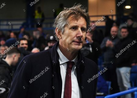 CEO of Ajax and former Dutch international goalkeeper Edwin van der Sar before the UEFA Champions League Group H match between Chelsea FC and Ajax Amsterdam in London, Britain, 05 November 2019.