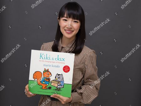 """Stock Image of Marie Kondo poses for a portrait to promote her children's book """"Kiki & Jax: The Life-Changing Magic of Friendship"""", in New York"""