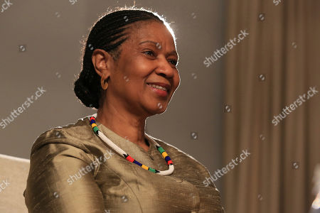 """Stock Picture of Phumzile Mlambo-Ngcuka, United Nations Under-Secretary-General and Executive Director of U.N. Women, speaks during an interview with The Associated Press in Sarajevo, Bosnia-Herzegovina,. Mlambo-Ngcuka said the adoption of the 150-platform for action to achieve gender equality by 189 governments at the 1995 Beijing women's conference has pushed countries around the world to create a """"gender machinery"""" including specific laws and government bodies dedicated to addressing the issue of gender equality"""