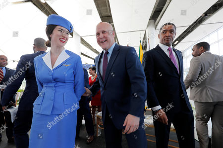 Editorial image of Airport Opening New Orleans, Baton Rouge, USA - 05 Nov 2019