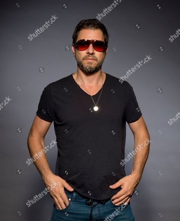 """Stock Image of Ariel Vromen poses for a portrait to promote his latest film """"The Angel"""", in Los Angeles"""