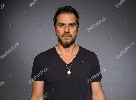 """Ariel Vromen poses for a portrait to promote his latest film """"The Angel"""", in Los Angeles"""