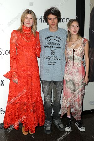 Laura Dern, Ellery Harper and Beanie Boylston