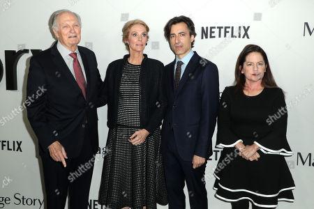 Alan Alda, Julie Hagerty, Noah Baumbach and Martha Kelly